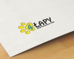 Identyfikacja wizualna, logo, wizerunek, salon psy, wizytówki, reklama zewnętrzna