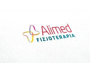 Projekt logo, identyfikacja wizualna, fizjoterapia, gabinet lekarski