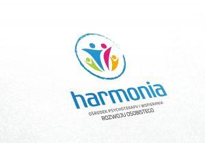 Projekt logo, ośrodek psychoterapii, logotyp, księga znaku,