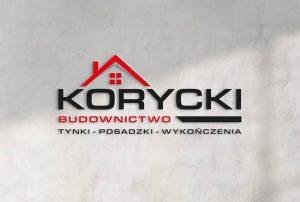 Logo firma budowlana, identyfikacja wizualna dla firmy, banery, billboardy, teczki, naklejki 3D
